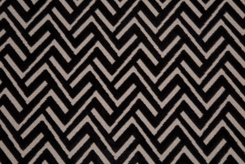 Scatter/Pillow: Percy Black (Band Pattern)