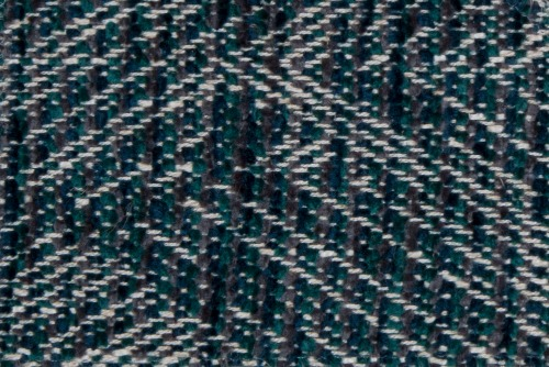 Scatter/Pillow: Wicker Teal (Band Pattern)