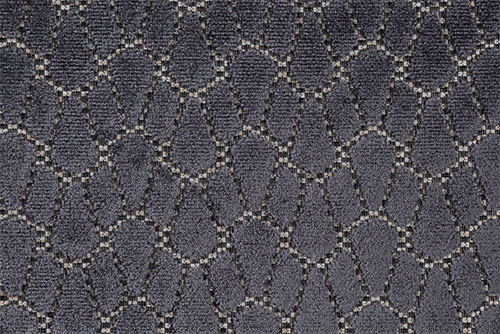Scatter/Pillow: Artemis Charcoal (Band Pattern)