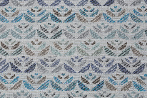 Scatter/Pillow: Carnaby Pattern Ocean (Band Pattern)