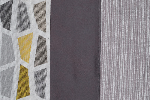 Scatter/Pillow: Arizona Charcoal, Spencer Citrus, Anya Silver