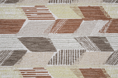 Scatter/Pillow: Fielding Terracotta (Band Pattern)