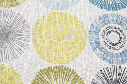 Scatter/Pillow: Flash Citron (Band Pattern)