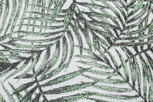 Scatter/Pillow: Jungle Emerald (Band Pattern)