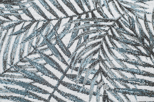Scatter/Pillow: Jungle Teal (Band Pattern)