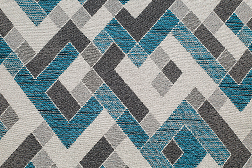Scatter/Pillow: Labyrinth Teal (Band Pattern)