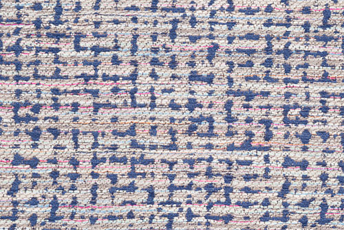Scatter/Pillow: Marge Navy (Band Pattern)