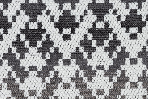 Scatter/Pillow: Paddington Charcoal (Band Pattern)