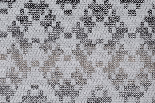 Scatter/Pillow: Paddington Silver (Band Pattern)