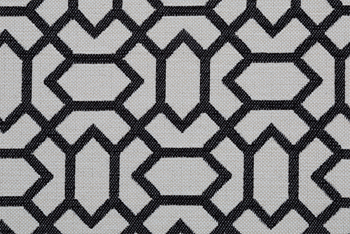 Scatter/Pillow: Salute Pattern Black (Band Pattern)
