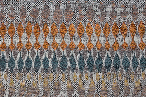 Scatter/Pillow: Sweetie Rust (Band Pattern)